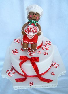 Gingerbreadman cake by Isabella's Sweet Tooth