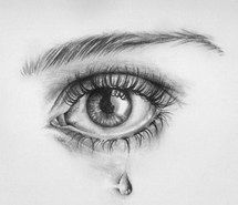 Inspiring image drawing, crying, eye, art #1236960 by korshun - Resolution 640x535px - Find the image to your taste