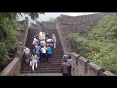 Epic piano move onto the Great Wall of China! ThePianoGuys
