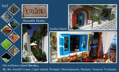 A small B&B set in the Historical Center of a mediterranean Village on Ischia island, by the Amalfi Coast, Capri Island, Pompei, Vesuvio, SOUTH ITALY