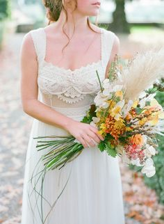 Rustic Vintage Bridal Inspiration in Tuscany Perfect for Fall Weddings – Antonis Prodromou – Villa Di Maiano 31 Fall Wedding Destinations, Destination Wedding, Vintage Bridal, Tuscany, Bouquet, Wedding Inspiration, Wedding Dresses, Fashion, Bride Dresses