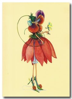 Patience BREWSTER Pansy Fairy by judith