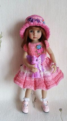 "The outfit for dolls 13"" Dianna Effner Little Darling)) Handmade in Dolls & Bears, Dolls, Clothes & Accessories 