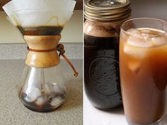 Japanese Iced Coffee Method: Better Than Cold Brewing? (Tip: Freeze unsweetened black coffee in an ice cube tray and use the cubes in your iced coffee so it doesn't get diluted.)  |  The Kitchn at Apartment Therapy