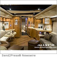 Allstar Coaches Redefines Luxury RV Travel - Recreational vehicle rentals continue to grow in popularity