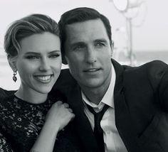 Scarlett Johansson y Matthew McConaughey, campaña de Dolce & Gabbana