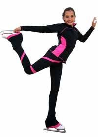 b864e34e0927c Fitted Two Tone Princess Seam Skate Jacket @ www.SkatersChoiceColorado.com Chloe  Noel 2