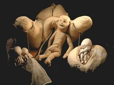 Fabric wombs from the 18th century