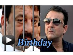 Sanjay Dutt To Celebrate Birthday In Jail - Happy Birthday ! It's Bollywood's Khalnayak Sanjay Dutt today. Unfortunately, Sanju Baba is in jail. Watch this video and know more on his filmy career and personal life and do not forget to post your birthday wishes below.