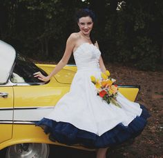Super Full Petticoat with ribbon hem pick a color por MissBrache