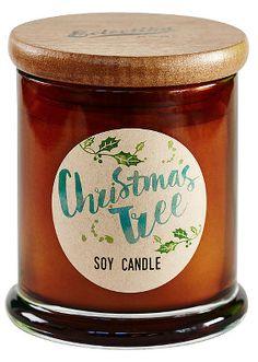 Eclectika Christmas Tree Candle
