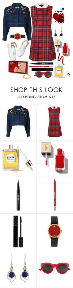 """""""It's The Simple Things"""" by loves-elephants ❤ liked on Polyvore featuring Sonia Rykiel, M. Gemi, Gisou by Negin Mirsalehi, Kat Von D, Urban Decay, Gucci, NOVICA, Yves Saint Laurent and L'Oréal Paris"""