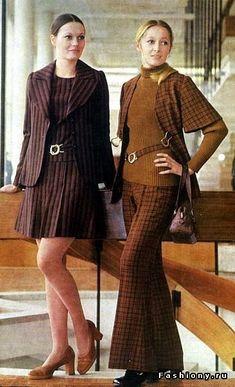 Платье мода 1970 г