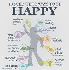 Les 10 paramètres pour être heureux ... ? #happinesstherapy