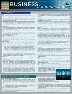Technical & Business Writing Laminated Study Guide - BarCharts Publishing Inc makers of QuickStudy Business Studies, Business Education, Business Marketing, Business Coaching, Life Coaching, Education College, Marketing Tools, Writing A Business Plan, Business Planning