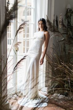 Athena - Claire Pettibone 2017 Bridal Collection. Photo by Judy Pak. www.theweddingnotebook.com