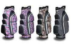 Taboo Fashions Allure Designer Lightweight Ladies Golf Cart Bag (4 Colors Available)
