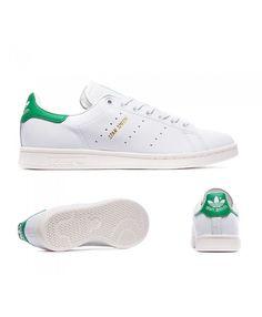 separation shoes 4b693 3da9a Adidas Originals Stan Smith Or Blanche Et Fairway