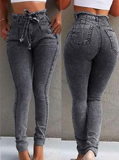 New Jeans Outfit Casual most expensive jeans womens elastic waist pants Sexy Jeans, Camo Skinny Jeans, Ripped Jeans, Short Jeans, R13 Denim, Denim Pants, Jeans Leggings, Trousers, Outfit Jeans