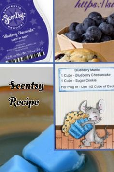 Scentsy Recipe: Blueberry Muffin  https://cassandraahern.scentsy.ca