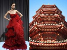 ideas for fashion inspiration architecture haute couture Black Girl Fashion, Trendy Fashion, Fashion Models, High Fashion, Fashion Show, Fashion Fashion, Korean Fashion, Vintage Fashion, Fashion Designers