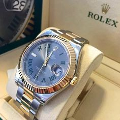 DJ2️⃣ 116333 Rolex DateJust II 41mm TwoTone Steel & Gold Version My favourite dial! You like this one?!? By: @globalwatchshop