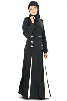 A pretty Designer Abaya.This dress is perfect balance between classic and style…