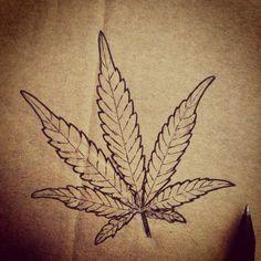 A cannabis leaf i drew, what do you think? www.delta9cloud.com