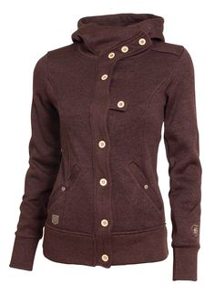 Svetr fleecový dámský WOOX Tune Fleece Ladies Brown 34 - Glami.cz ff56f1a5b8