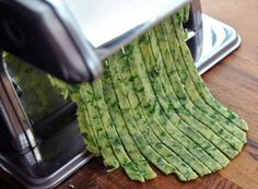 Weston Brands Blog: Wild Ramp Pasta with a Weston Pasta Machine