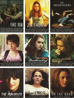 Some of Kristen's movies