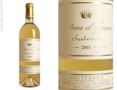 Stores and prices for '2001 Chateau d'Yquem, Sauternes, France'.  Compare prices for this wine, at 17,000+ online wine stores.
