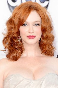 Emmy Awards 2012: Best in Beauty - Christina Hendricks