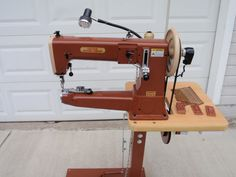Cobra 4-P Heavy Duty Industrial Leather Sewing Machine, Saddles, Holsters picclick.com