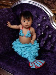 3pcs neugeborenen Mädchen Kleinkinder Crochet von dreammadestudio, $21.00