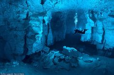 Orda Cave, Ural Mountains, Russia. Photo by Victor Lyagushk
