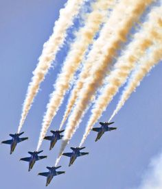 The Blue Angels at the Cleveland National Air Show