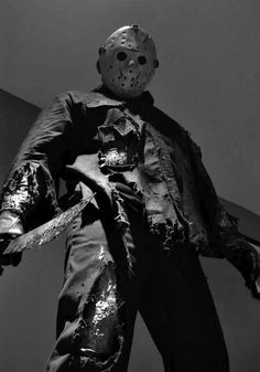 Jason Voorhees (from Friday the Part II, Portrayed by Warrington Gillette Horror Icons, Horror Films, Horror Art, Horror Movie Characters, Slasher Movies, Jason Friday, Friday The 13th, Jason Voorhees, Horror Photos