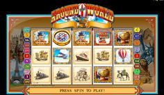 Go around the #world in just £5 bonus! Join Vegas Paradise and #play Around The World slots at Vegas Paradise now