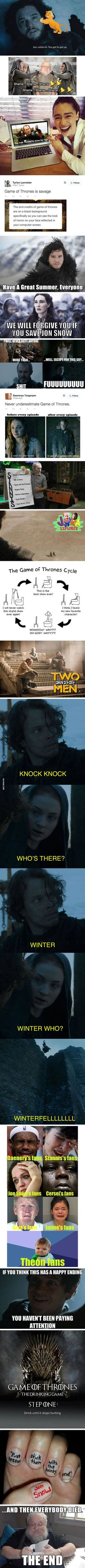 These Are The Best Internet Reactions To Game Of Thrones Season 5 Finale. #memes // www.drolementvotre.com