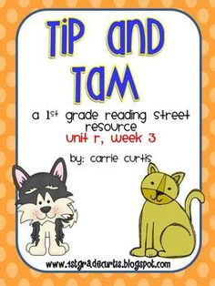1st Grade REading Street: Unit R, week 3 Tip & Tam