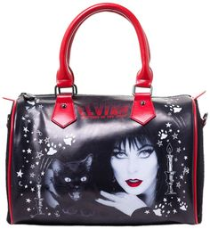 KREEPSVILLE 666 ELVIRA BLACK CAT Handbag #Halloween  PURSE $56.00 #kreepsville #purse #elvira