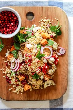 cracked wheat harvest salad | The Clever Carrot