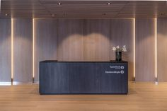 Sr-Banks by Magu Design Law Office Design, Office Reception Design, Office Furniture Design, Reception Counter, Lobby Reception, Bank Interior Design, Hotel Lobby Design, Counter Design, Lobby Interior