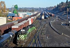 RailPictures.Net Photo: BNSF 1948 BNSF Railway EMD SD40-2 at Vancouver, Washington by J.PO