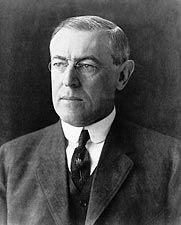 28th U.S. President Woodrow Wilson