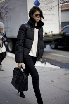 Street Style New York Fashion Week Fall 2013 Emily Weiss