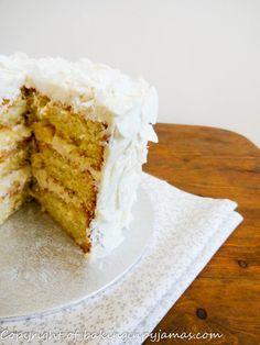 Coconut Scented Mini Layer Cake