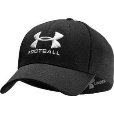 108e5dc9064 Men s Football Stretch Fit Cap Headwear by Under Armour
