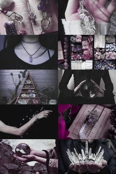 — skcgsra:   crystal witch aesthetic (more here)